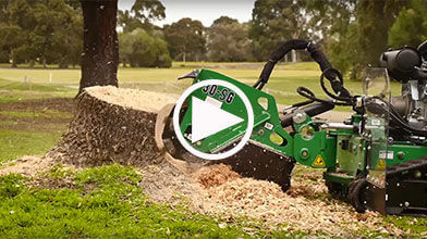 SG30TRX Stump Grinder Video