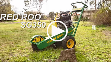 Video of SG350 TRX Stump Grinder