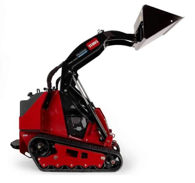 Toro mini digger on tracks