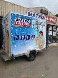 Mobile Ensuite Bathroom  Toilet  Shower trailer