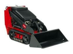 Toro mini digger on tracks.