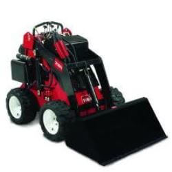 Toro mini digger on wheels.
